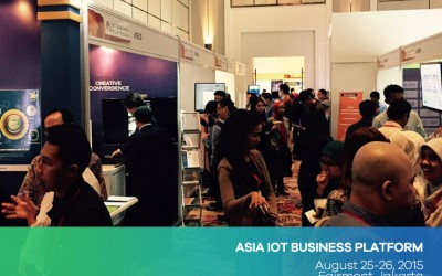 NTELS Exhibited at Asia IoT Business Platform in Jakarta