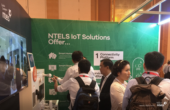 NTELS Exhibiting at CommunicAsia 2016 in Singapore