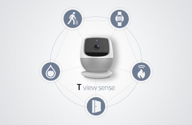 """T view sense"" Home Surveillance"
