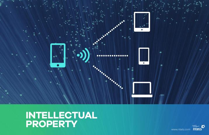 엔텔스, 테더링 서비스 관련 특허 취득